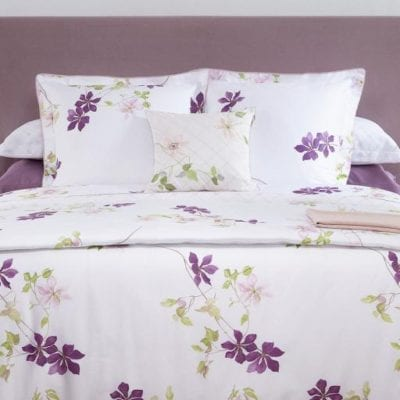 Clematis Bed Collection Duvet Cover