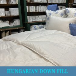 All Year Spa Hungarian Down COmforter
